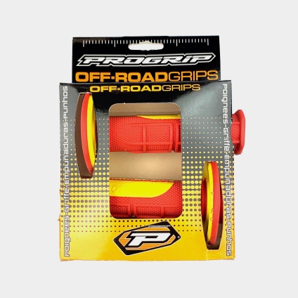 PRO-GRIP 798 GRIPS RED/YELLOW