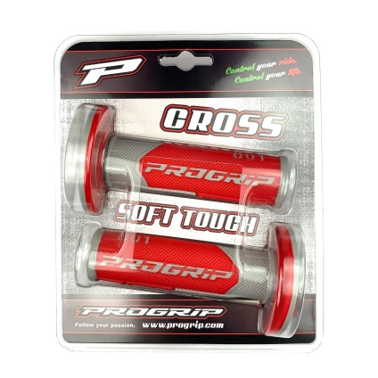 PRO GRIP  801 GRIPS GREY/RED