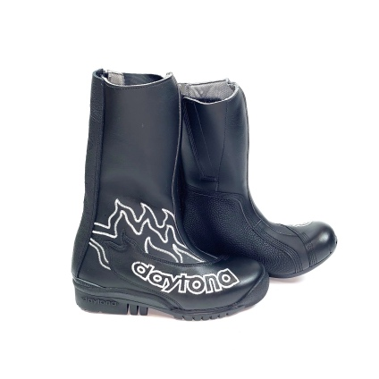 DAYTONA SPEED YOUNGSTER  - BLACK-SILVER FLAME 34