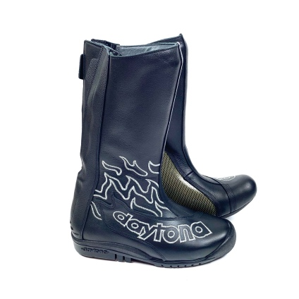 DAYTONA SPEED MASTER II BOOTS - BLACK-SILVER 38