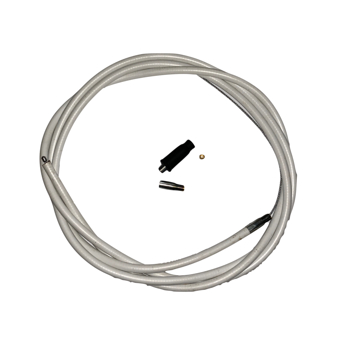 VENHILL UNIVERSAL THROTTLE CABLE KIT 1.4M - STANDARD - WHITE