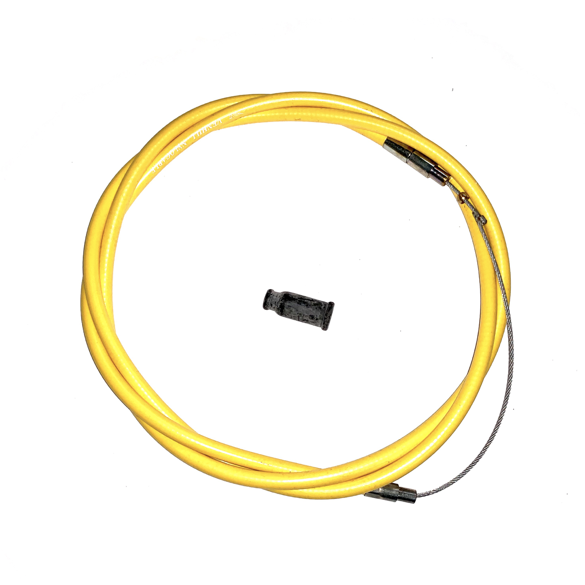 VENHILL UNIVERSAL THROTTLE CABLE KIT 1.4M - STANDARD - YELLOW