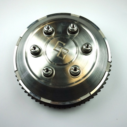 GG CLUTCH COMPLETE WITH ALLOY PLATES (BELT DRIVE)
