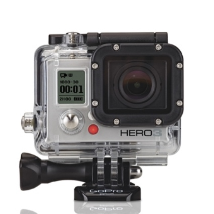 GO PRO HERO 3 SILVER EDITION CAMERA