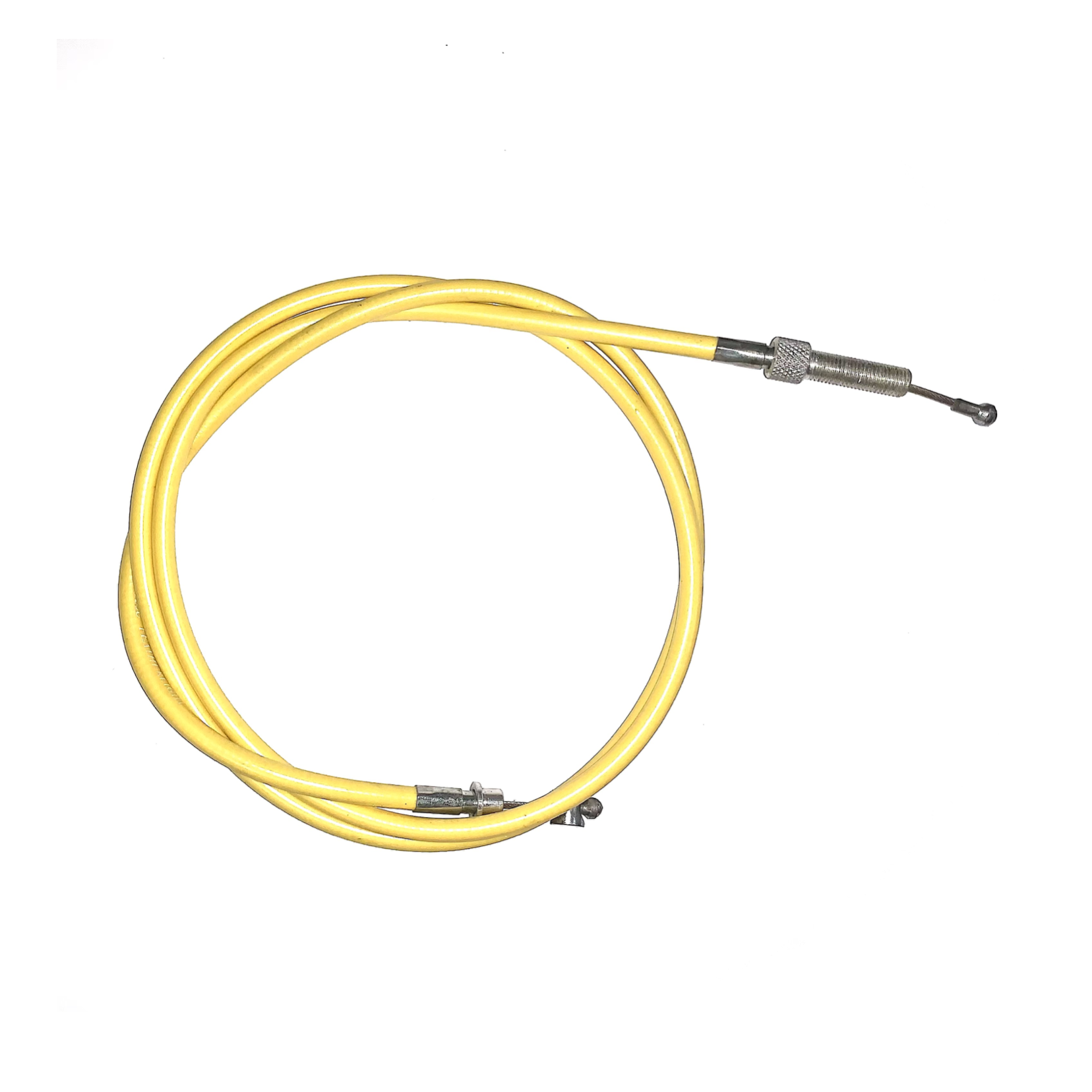 VENHILL FEATHERLIGHT CLUTCH CABLE FOR OLD ENGLISH DOHERTY LEVER - YELLOW