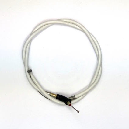 VENHILL FEATHERLIGHT THROTTLE CABLE FOR MAGURA/JOKER THROTTLE & BZ BLACK SLIDE/DELLORTO CARB - WHITE