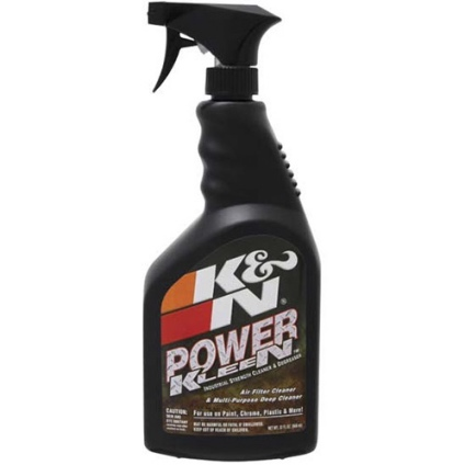 K & N AIR FILTER CLEANER 32oz TRIGGER SPRAYER
