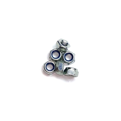 NYLOCK NUTS 6mm