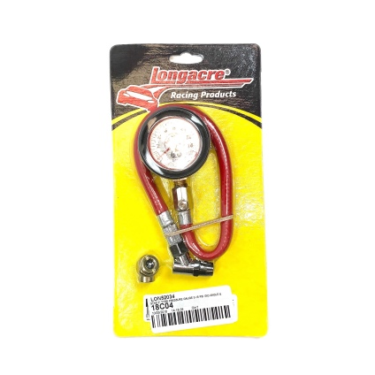 DIAL PRESSURE GAUGE WITH ANGLE & BALL CHUCK