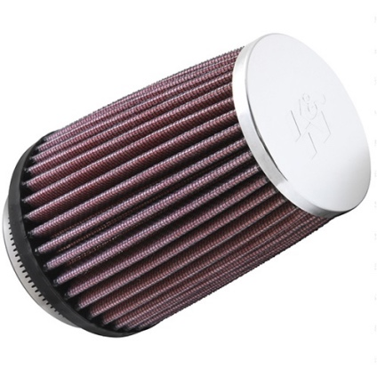 K & N AIR FILTER - RC2600 FRJ/BLIXT CHROME TOP