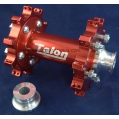 TALON GP L/W SS REAR HUB RED