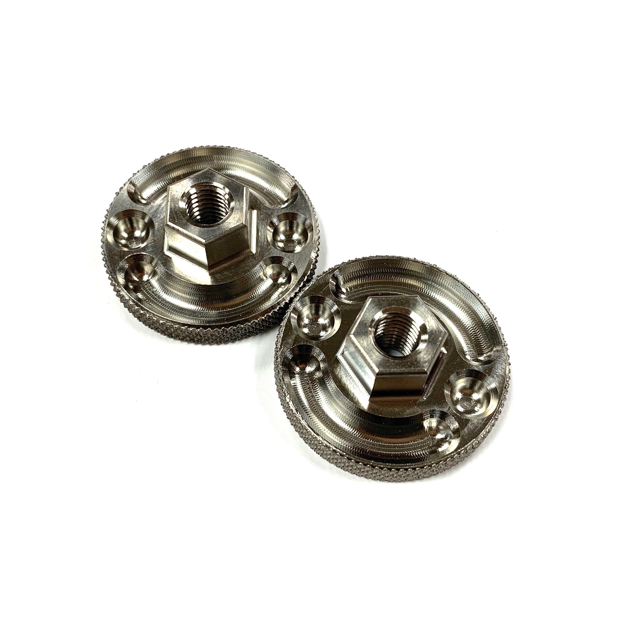 TITANIUM WHEEL ADJUSTER NUTS