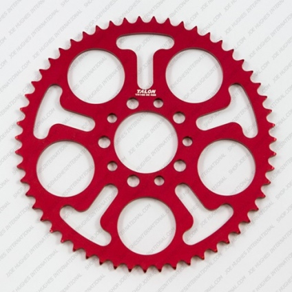 TALON JUNIOR 428  REAR SPROCKET -41T RED