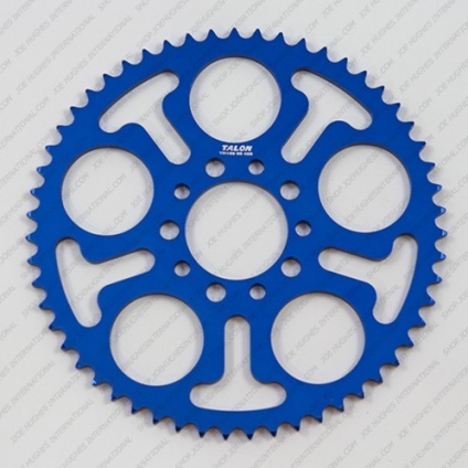 TALON JUNIOR 428  REAR SPROCKET -42T BLUE