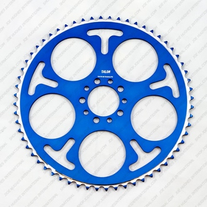 TALON RADIALITE SPROCKET -40T BLUE