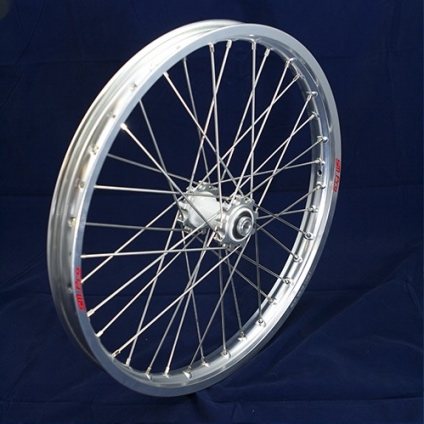 "19"" Front Wheel JR with Silver Rim and Silver Hub"