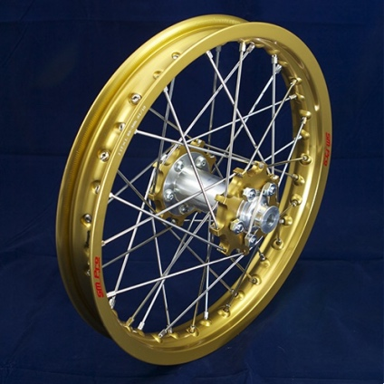 "17"" Rear JR wheel with Gold Rim & Gold Hub"