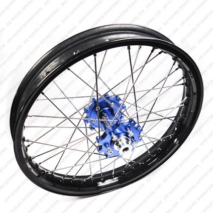 "19"" Rear GP Wheel with Black Rim & Blue Hub"