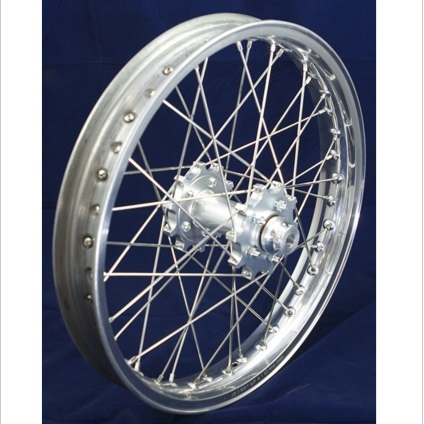 "19"" Rear GP Wheel with Silver Rim & Silver Hub"