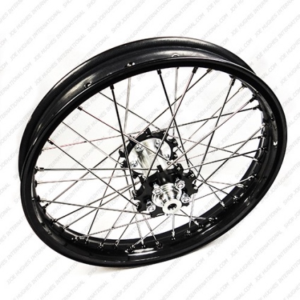 "19"" Rear STD Wheel with Black Rim & Black Hub"