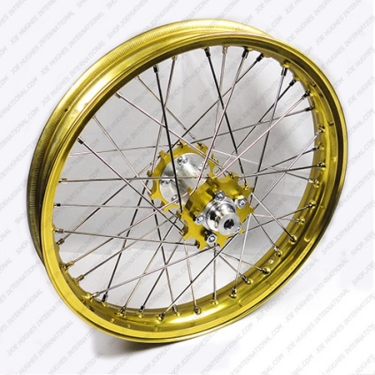 "19"" Rear STD Wheel with Gold Rim & Gold Hub"