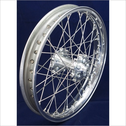 "19"" Rear STD Wheel with Silver Rim & Silver Hub"