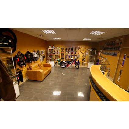 Inside our shop at our head office in Derby, Joe Hughes International